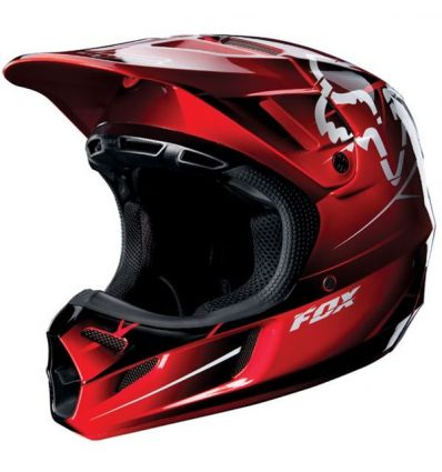 MX-F-V-HELMETS V4 FUTURE HELMET ECE RED